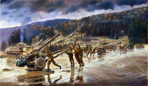 David Rowlands Military Artist