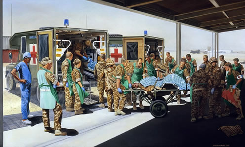 The Medical Treatment Facility at Camp Bastion